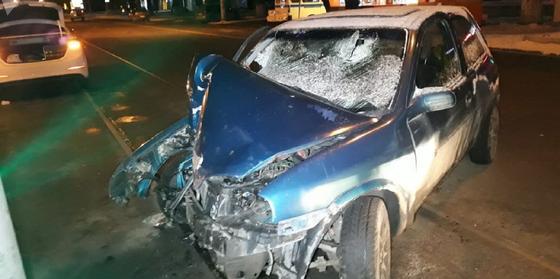 Два человека попали в ДТП на угнанной машине в Алматы