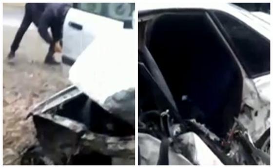 Жамбыл облысында екі көлік соқтығысып, бір әулеттің төрт адамы қаза тапты