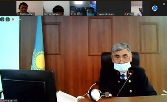 Председательствующий на суде по делу Куанышбека Искакова