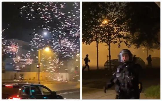 Фейерверки и слезоточивый газ: беспорядки накрыли Париж во время карантина