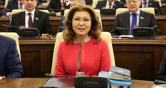 Дарига Назарбаева выступила с обращением к казахстанцам