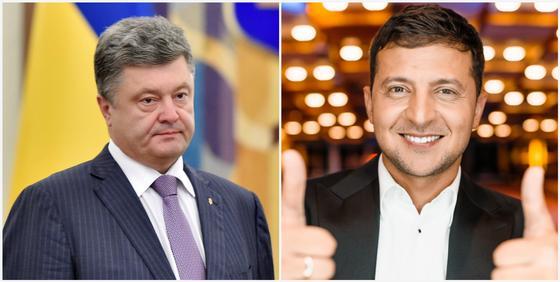 Зеленский и Порошенко высказались о первых результатах выборов