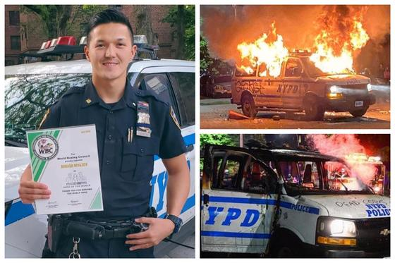 АҚШ-тағы қазақ полицейі елдегі жаппай тәртіпсіздікке қатысты ойын айтты