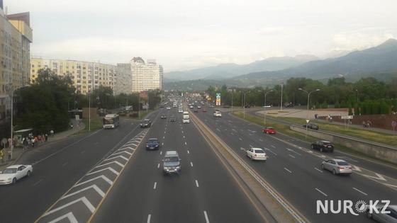 Алматинцев обеспокоил жуткий запах гари в разных районах города