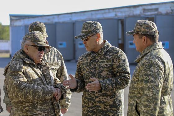 Подразделения Капчагайского гарнизона подняты по сигналу тревоги