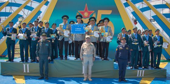Завершился военно-патриотический сбор «Айбын»