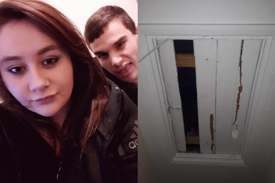 Преступник 6 дней следил за бывшей девушкой, спрятавшись на чердаке ее дома