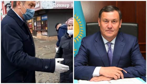 Аким Талдыкоргана устроил жесткий разнос нарушителям карантина (видео)