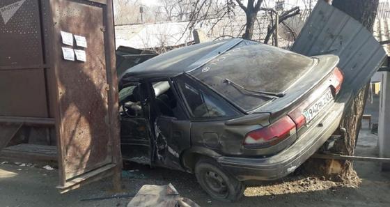 Алматыда аялдамаға соғылған Toyota: Күдікті тұтқындалды