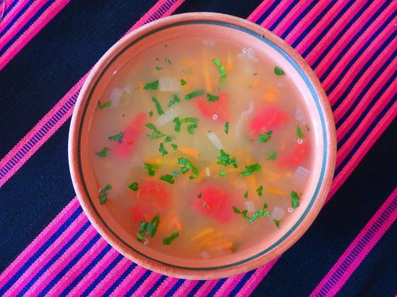 Овощной суп: 3 рецепта с фото
