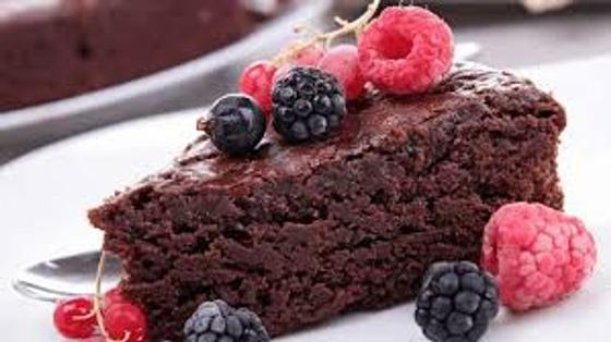 Рецепт: кекс домашний шоколадный