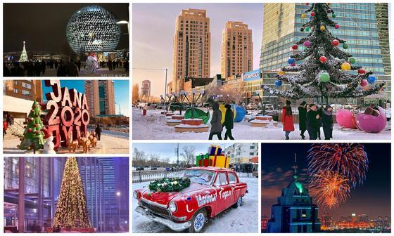Новогодний салют, горки и утренники: куда сходить в Нур-Султане в праздники
