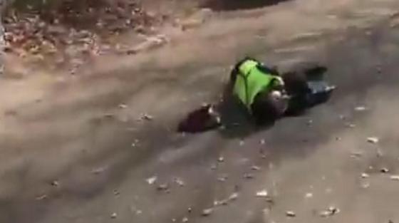 Видео с «убитыми» полицейскими в Нур-Султане распространяют в Сети