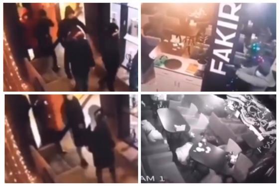 Мужчины в масках открыли стрельбу в ресторане в Нур-Султане (видео)