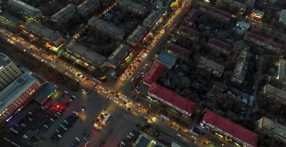 Ограничить скорость до 30 км/ч предложили в Алматы и Нур-Султане