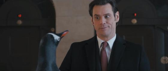 Джим Керри и пингвины