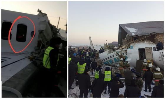 «Слава Аллаху, жив»: Выживший показал свое место в рухнувшем в Алматы самолете