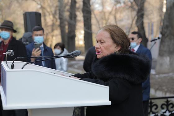 Супруга Герольда Карловича Раиса Хисматуллина