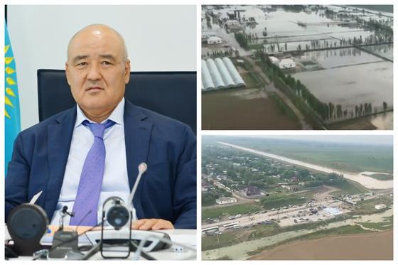 """""""Ситуация сложная"""": Шукеев сделал заявление из-за подтопления в Туркестанской области"""