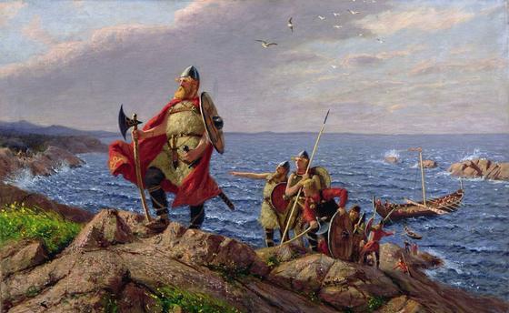 Викинги открыли Америку