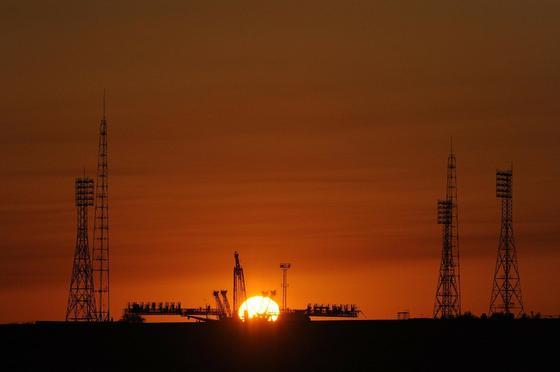 Технические сооружения космодрома Байконур