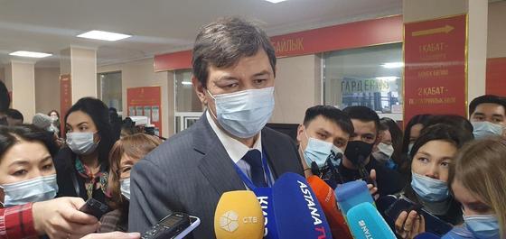 Киясов отвечает на вопросы журналистов
