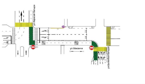 Схема улиц