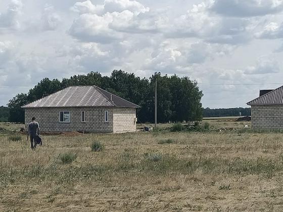 Дома переселенцев на севере Казахстана