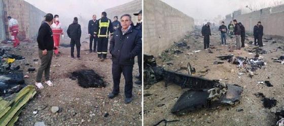 СМИ: Все пассажиры рухнувшего в Иране украинского лайнера погибли