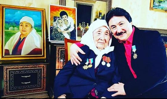 Марат Омаровтың анасы 96 жасқа қараған шағында өмірден озды