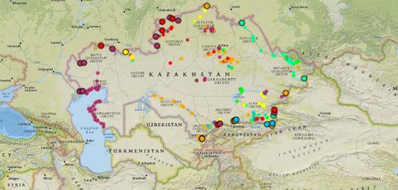 В каких регионах Казахстана самые загрязненные воздух и вода