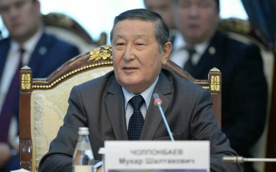 Мукар Чолпонбаев. Фото: Қырғызстан президентінің баспасөз қызметі