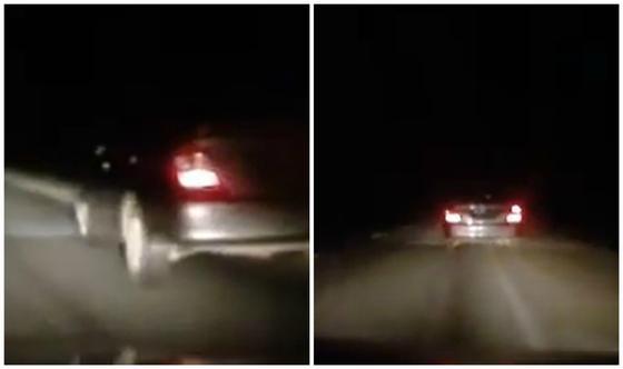 Погоню устроили за водителем Camry, который хотел объехать блокпост в Уральске (видео)