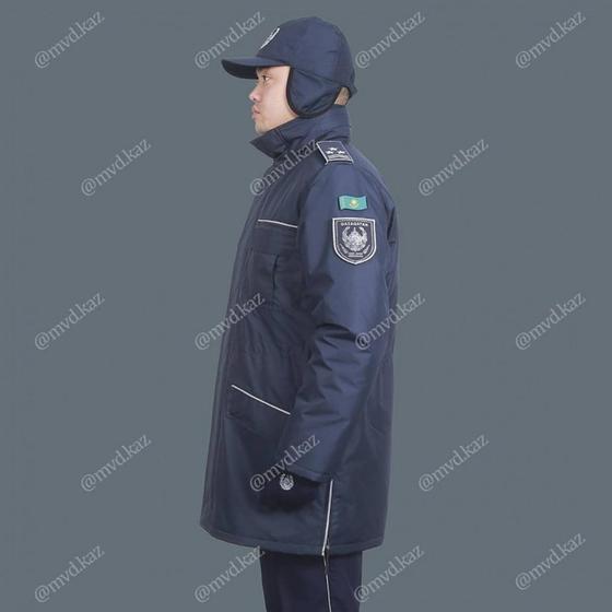 МВД показало проект новой формы полицейских Казахстана