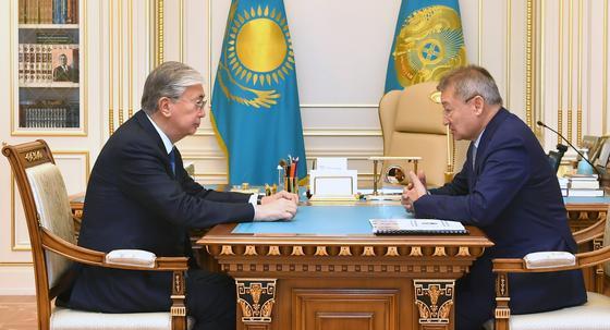 Касым-Жомарт Токаев принял Даниала Ахметова