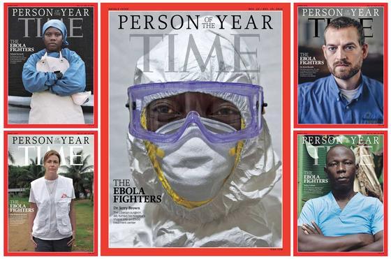 Обложка Time в 2014 году