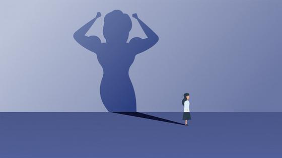 Девушка и ее тень