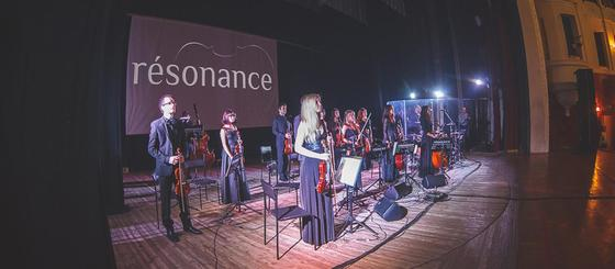Рок хиты в исполнении камерной группы симфонического оркестра «résonance»