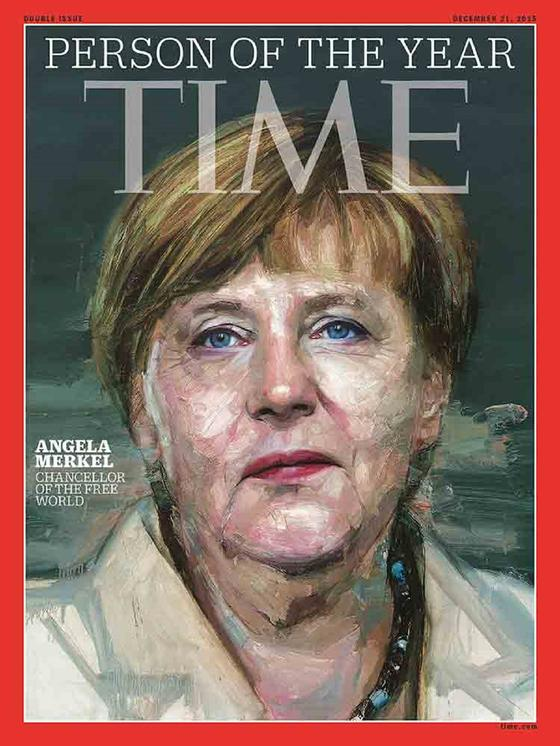 Ангела Меркель на обложке журнала Time