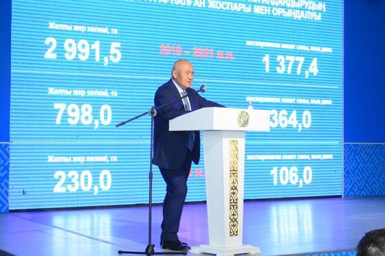 У.Шукеев: Мы будем развивать Туркестан в современных условиях