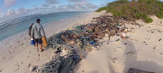 Райский остров превратился в зону бедствия