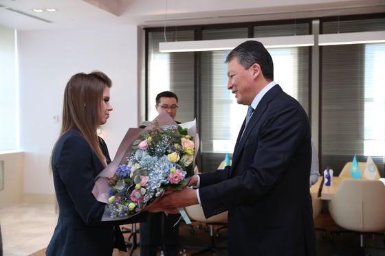 Тимур Құлыбаев. Фото:olympic.kz