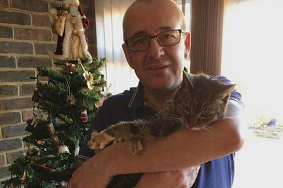 19-летний кот вернулся домой через семь лет после пропажи