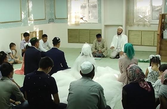 Свадебный обряд в мечети