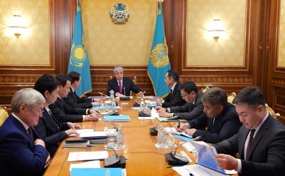 Сапарбаев рассказал Токаеву о мошенничестве с АСП