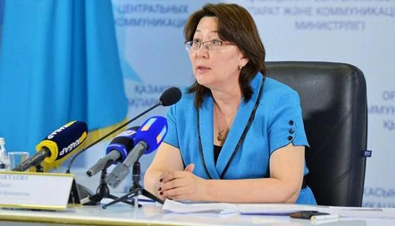 Ләзат Ақтаева. Фото: Sputnik Казахстан