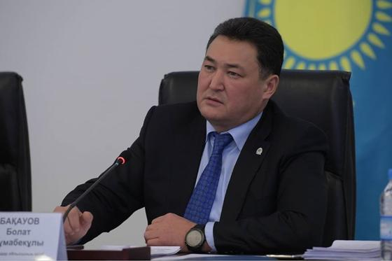 Информацию о задержании Булата Бакауова рассылают в мессенджерах