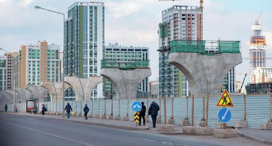 «Строительство не заморожено»: Игембердинов о строительстве надземного метро в Нур-Султане