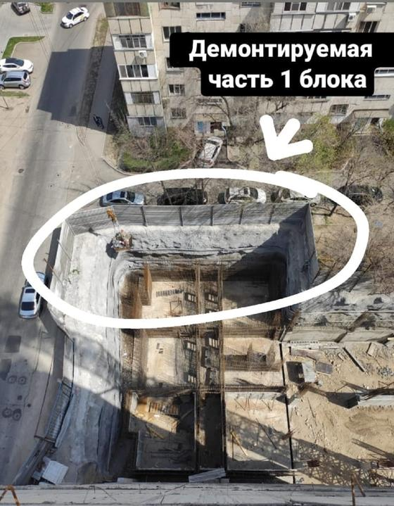 Стройка гостиницы