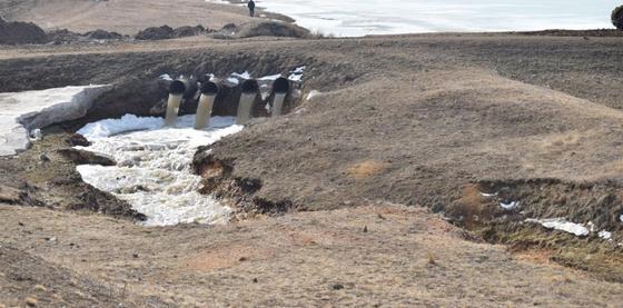 КЧС: Более 600 домов и объектов находится в красной зоне с риском подтопления в Кокшетау